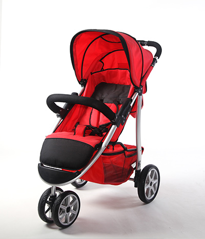Baby jogger 3  wheels high light aluminum stroller trolly pram big seat NB-BS480