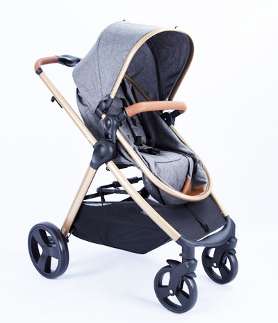 Baby stroller buggy travel system 3 in 1 carry cot high aluminum NB-BS509